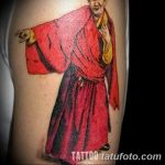 Фото рисунка татуировки Монах 21.11.2018 №002 - Monk tattoo photo - tatufoto.com