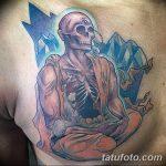 Фото рисунка татуировки Монах 21.11.2018 №016 - Monk tattoo photo - tatufoto.com