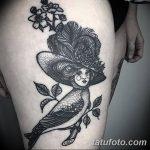 Фото рисунка тату гарпия 06.11.2018 №023 - photo tattoo harpy - tatufoto.com
