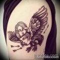 Фото рисунка тату гарпия 06.11.2018 №084 - photo tattoo harpy - tatufoto.com