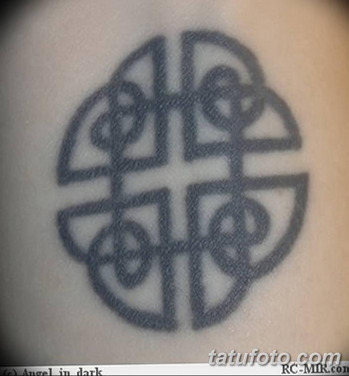 Фото рисунка тату кельтский узел 13.11.2018 №014 - tattoo photo celtic knot - tatufoto.com