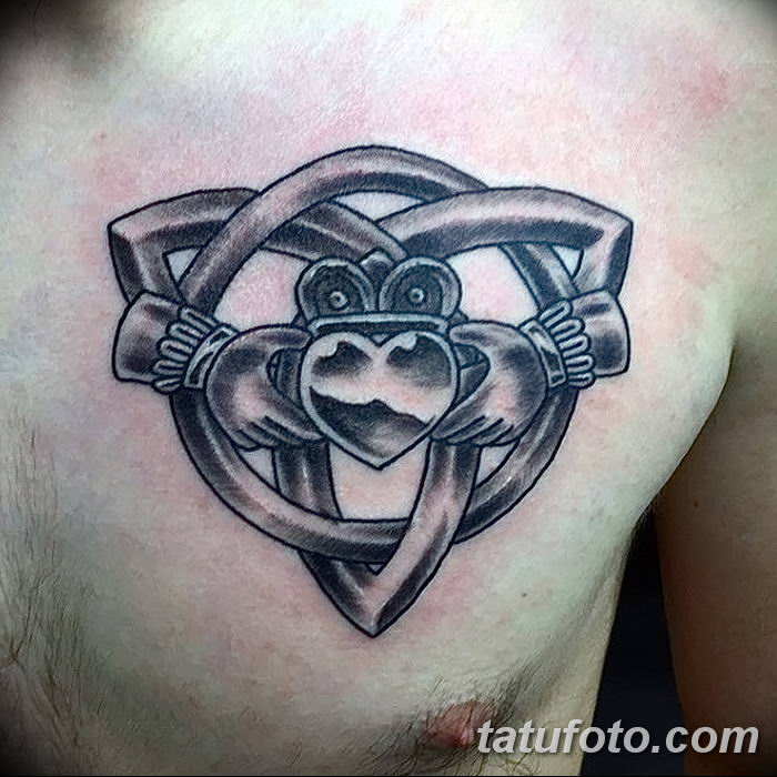 Фото рисунка тату кельтский узел 13.11.2018 №027 - tattoo photo celtic knot - tatufoto.com