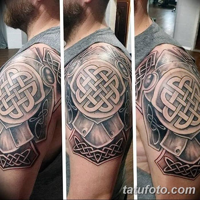 Фото рисунка тату кельтский узел 13.11.2018 №036 - tattoo photo celtic knot - tatufoto.com