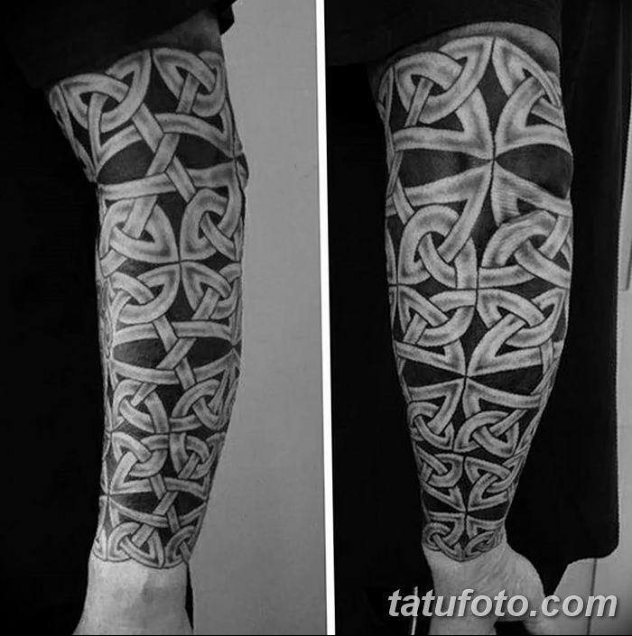 Фото рисунка тату кельтский узел 13.11.2018 №040 - tattoo photo celtic knot - tatufoto.com
