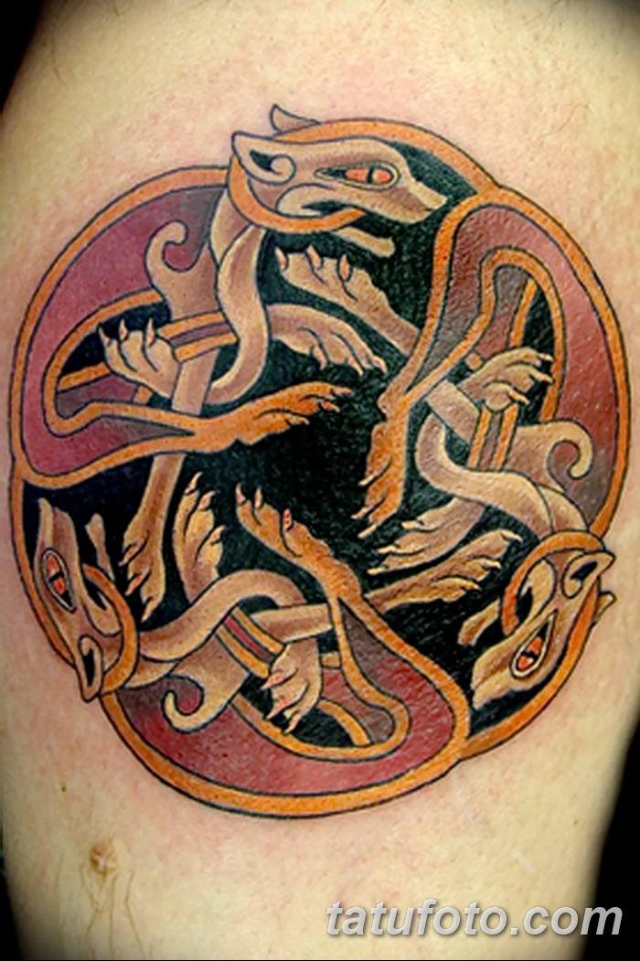 Фото рисунка тату кельтский узел 13.11.2018 №074 - tattoo photo celtic knot - tatufoto.com