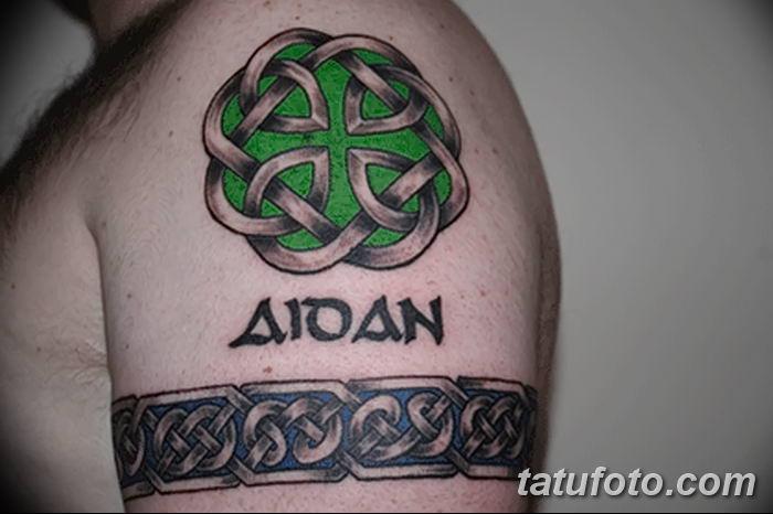 Фото рисунка тату кельтский узел 13.11.2018 №075 - tattoo photo celtic knot - tatufoto.com