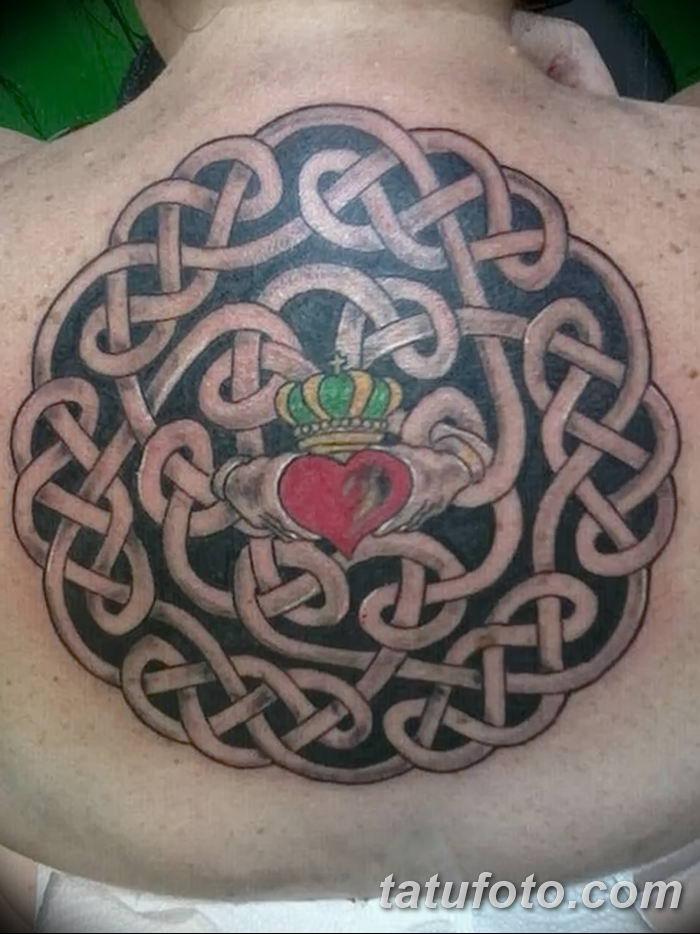 Фото рисунка тату кельтский узел 13.11.2018 №111 - tattoo photo celtic knot - tatufoto.com