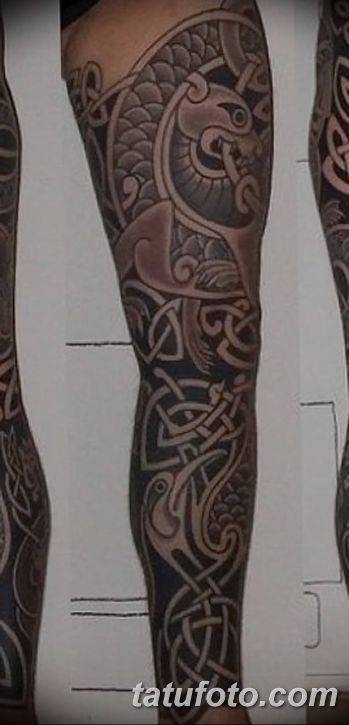 Фото рисунка тату кельтский узел 13.11.2018 №125 - tattoo photo celtic knot - tatufoto.com