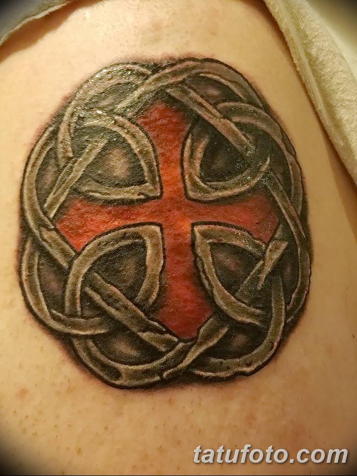 Фото рисунка тату кельтский узел 13.11.2018 №131 - tattoo photo celtic knot - tatufoto.com