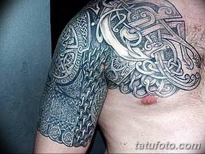Фото рисунка тату кельтский узел 13.11.2018 №145 - tattoo photo celtic knot - tatufoto.com