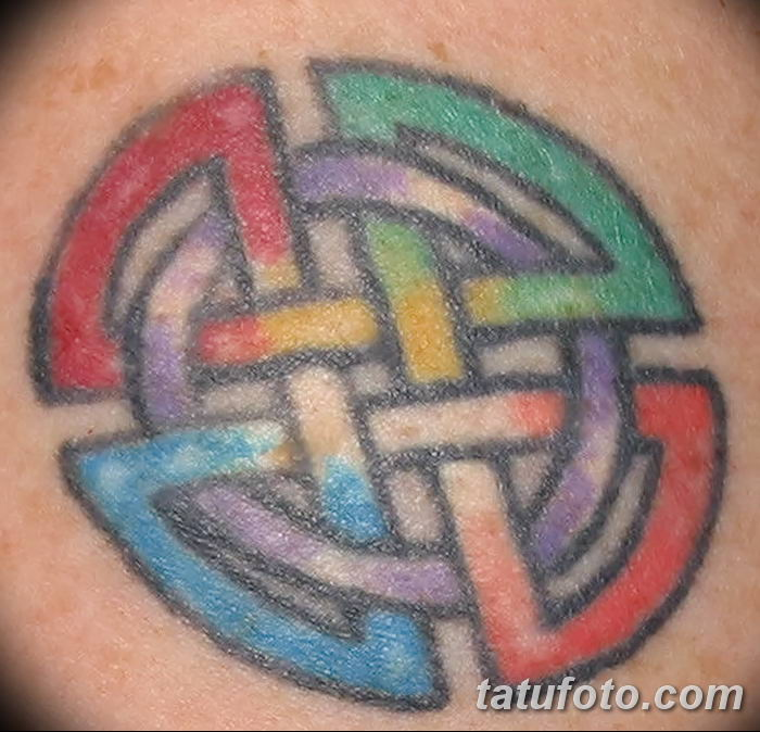 Фото рисунка тату кельтский узел 13.11.2018 №159 - tattoo photo celtic knot - tatufoto.com