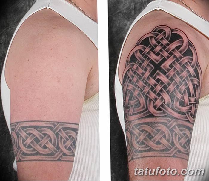 Фото рисунка тату кельтский узел 13.11.2018 №170 - tattoo photo celtic knot - tatufoto.com