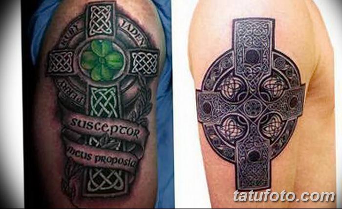 Фото рисунка тату кельтский узел 13.11.2018 №202 - tattoo photo celtic knot - tatufoto.com