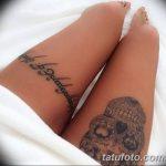 Фото рисунка тату на ноге 26.11.2018 №014 - photo of tattoo on leg - tatufoto.com