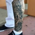 Фото рисунка тату на ноге 26.11.2018 №018 - photo of tattoo on leg - tatufoto.com