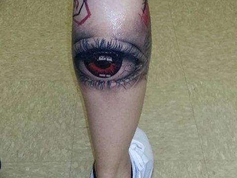 Фото рисунка тату на ноге 26.11.2018 №027 - photo of tattoo on leg - tatufoto.com