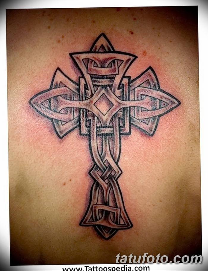 фото рисунка тату кельтский крест 30112018 074 Tattoo