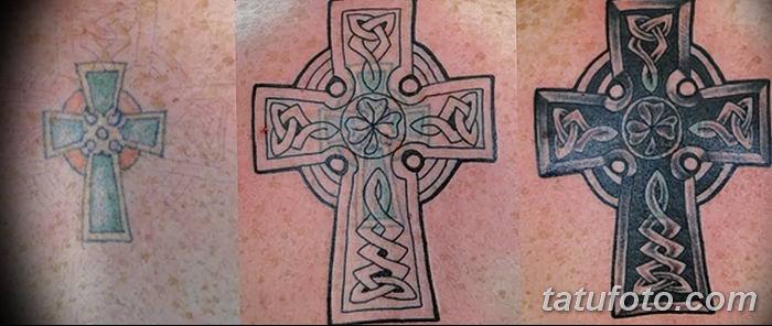 фото рисунка тату кельтский крест 30112018 093 Tattoo