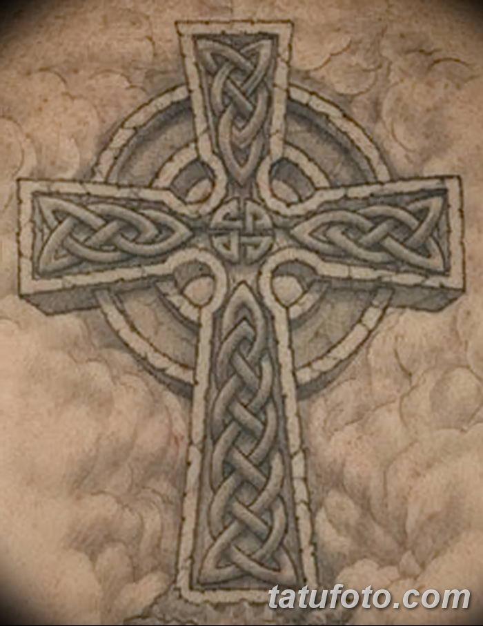 фото рисунка тату кельтский крест 30112018 169 Tattoo