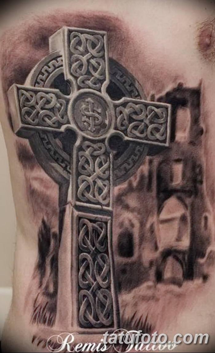 Фото тату кельтский крест