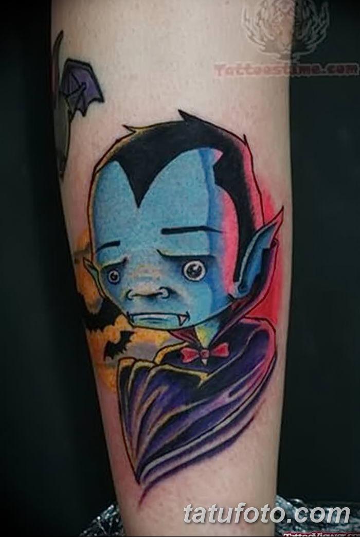 фото рисунка тату вампир 19.11.2018 №044 - photo tattoo vampire - tatufoto.com