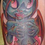 фото рисунка тату вампир 19.11.2018 №068 - photo tattoo vampire - tatufoto.com
