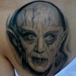 фото рисунка тату вампир 19.11.2018 №069 - photo tattoo vampire - tatufoto.com
