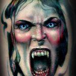 фото рисунка тату вампир 19.11.2018 №093 - photo tattoo vampire - tatufoto.com