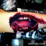 фото рисунка тату вампир 19.11.2018 №096 - photo tattoo vampire - tatufoto.com