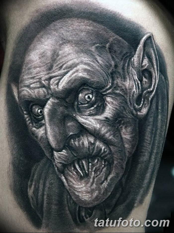 фото рисунка тату вампир 19.11.2018 №116 - photo tattoo vampire - tatufoto.com