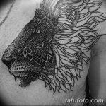 фото рисунка тату в стиле графика 14.11.2018 №014 - tattoo style graphics - tatufoto.com
