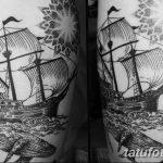 фото рисунка тату в стиле графика 14.11.2018 №034 - tattoo style graphics - tatufoto.com