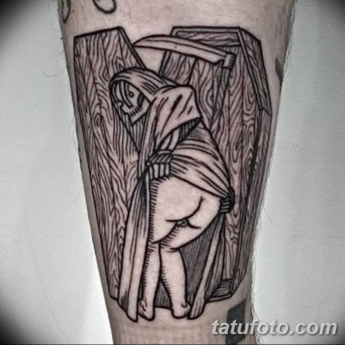 фото рисунка тату в стиле графика 14.11.2018 №110 - tattoo style graphics - tatufoto.com