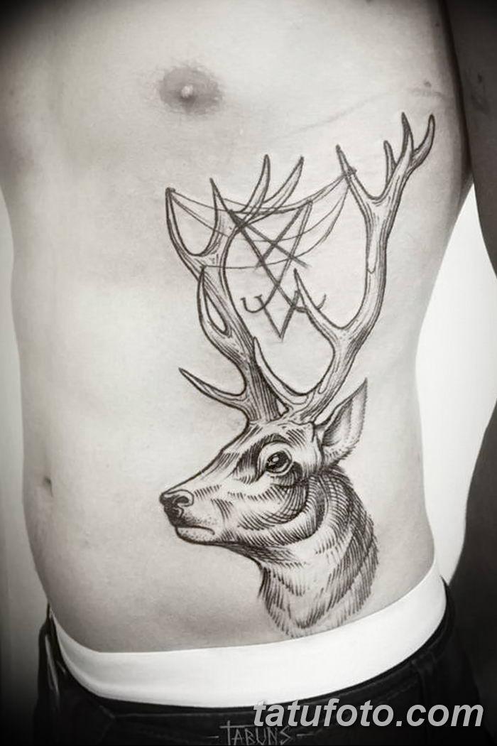 фото рисунка тату в стиле графика 14.11.2018 №118 - tattoo style graphics - tatufoto.com