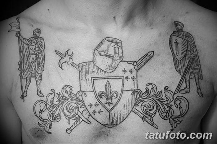 фото рисунка тату в стиле графика 14.11.2018 №171 - tattoo style graphics - tatufoto.com
