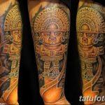фото рисунка тату инков 16.11.2018 №062 - Inca tattoo photo - tatufoto.com
