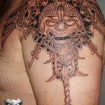 фото рисунка тату инков 16.11.2018 №063 - Inca tattoo photo - tatufoto.com