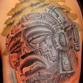 фото рисунка тату инков 16.11.2018 №095 - Inca tattoo photo - tatufoto.com