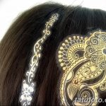 фото флеш татуировки для волос 18.11.2018 №005 - photo flash tattoo for hair - tatufoto.com