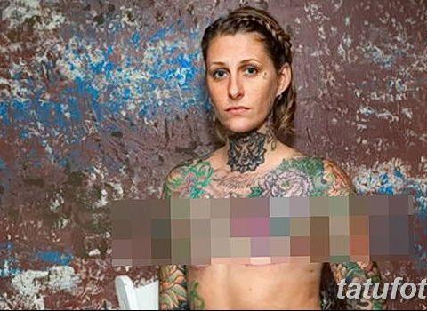 Бесплатные татуировки вместо груди - тату для больных раком молочной железы - фото 1