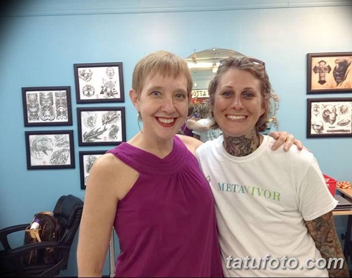 Бесплатные татуировки вместо груди - тату для больных раком молочной железы - фото 4