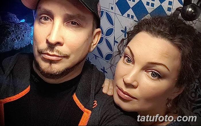 Данко и интимные татуировки его любовницы - фото - картинка 3