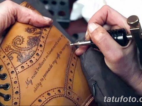 фото Татуировки на обуви 06.12.2018 №006 - photo Tattoos on shoes - tatufoto.com