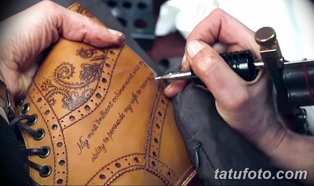 Татуировки на обуви