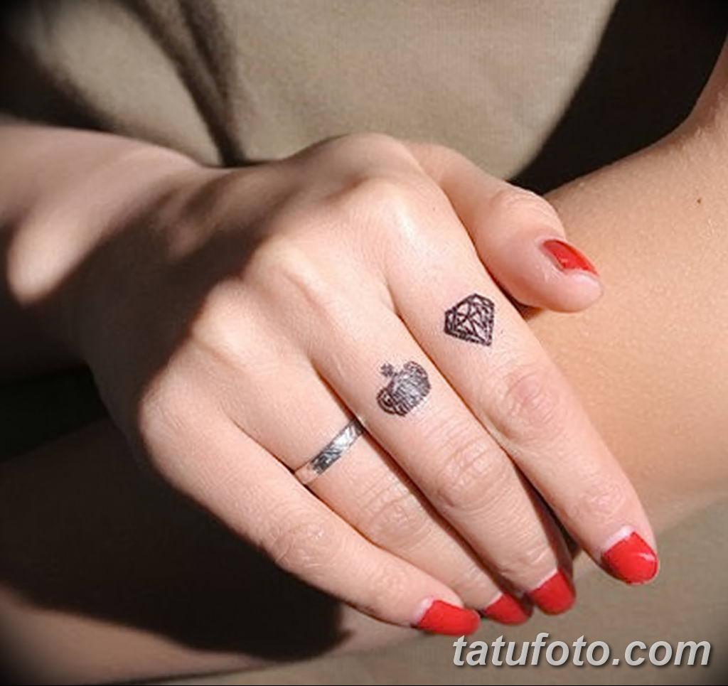 фото тату на пальцах 16.12.2018 №117 - photo tattoo on fingers - tatufoto.com