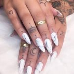 фото тату на пальцах 16.12.2018 №118 - photo tattoo on fingers - tatufoto.com