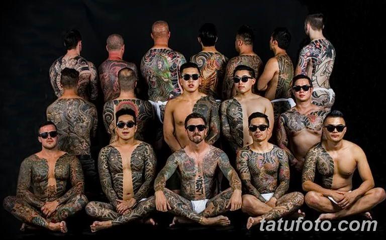 История татуировки в нескольких словах и фото 1