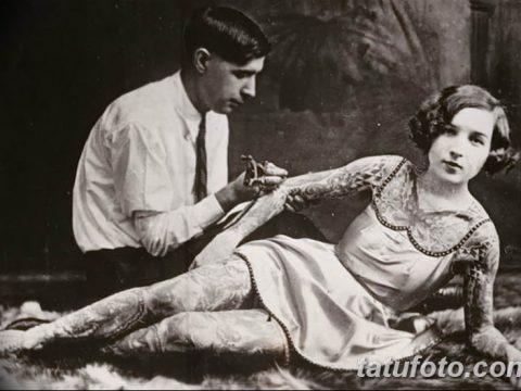 История татуировки в нескольких словах и фото 3