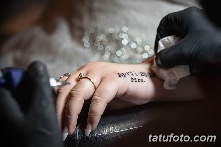 Свадебная татуировка - как запомнить свадьбу на всю жизнь - фото 1