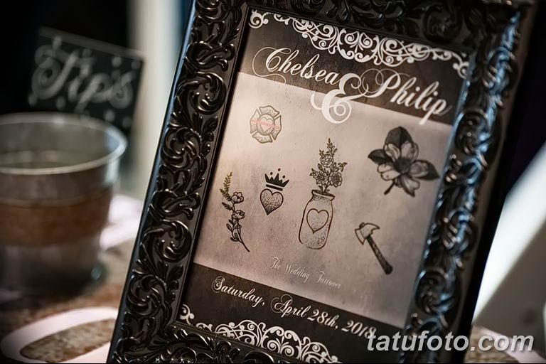 Свадебная татуировка - как запомнить свадьбу на всю жизнь - фото 2